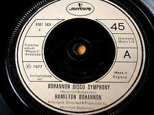 "HAMILTON BOHANNON - BOHANNON DISCO SYMPHONY  7"" VINYL"