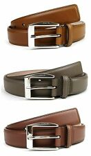 NEW Authentic GUCCI Mens Leather Belt with Classic Square Buckle 336831 bgh0n