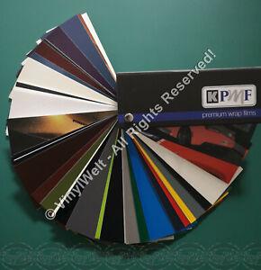 Farbfächer KPMF - Premim Wrap Films