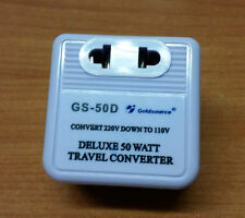 TRANSFORMATEUR 220/110V POUR APPAREILS IMPORTES DES USA ADAPTATEUR CONVERTISSEUR
