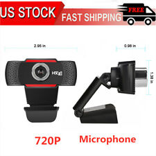 Hd Webcam Computer Web Camera For Pc Laptop Desktop Video Cam W/ Microphone J2K5