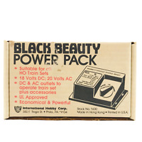 Black Beauty Power Pack Suitable For All HO Train Sets Power Pack Model Trains