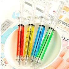 Popular 4Pcs Doctor Nurse Gift Liquid Syringe Injection Ballpoint Pen Ballpen CN