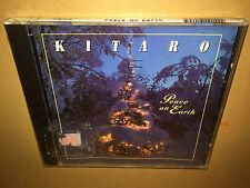 KITARO cd PEACE ON EARTH holiday SILENT NIGHT jingle bells DRUMMER BOY x-mas