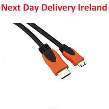 2m MINI HDMI 1080p Cable Type A Male to Mini C Male High Speed TV Tablet