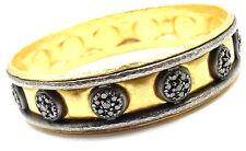 New! Authentic Gurhan 24k Yellow Gold Diamond Bangle Bracelet Retail $13,400