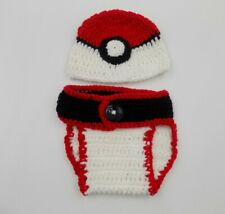 Pokemon Hat - Crochet Baby Hat
