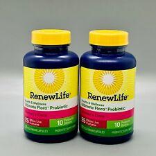 RenewLife Health & Wellness Probiotic Women's Care 25 Billion 2pk x30 10/20+