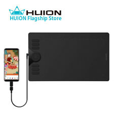 Huion Hs610 Graphics Drawing Painting Tablet Android Support 8192 Battery Free