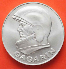 1991 30th Anniversary made from Space Flown  Vostok 1 Gagarin Coin  Medal  UNC