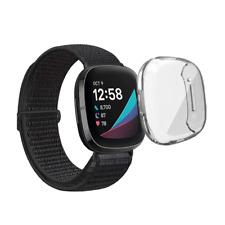 Schutzhülle für Fitbit Versa 3 / Sense Full Cover Case Screen Protector Bumper