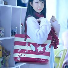 Anime Card Captor Sakura Kinomoto Kero Handbag Zipper Tote Bag shoulder Bag