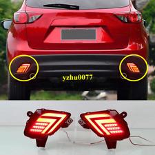 2013-2016 For Mazda CX-5 LED rear bumper fog light / brake warning light 2pcs