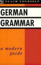 German Grammar (Teach Yourself Books)-ExLibrary