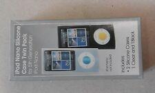 iPod Nano Silicone Case Twin Pack