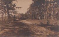 Postcard RPPC Osterville Cape Cod MA
