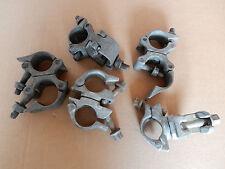 5x Gerüstschelle Gerüstkupplung drehbar für 48mm Gerüststangen