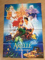 Filmposter * Kinoplakat * A1 * Arielle, die Meerjungfrau * EA 1990 * Walt Disney