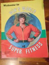 WIN'S WORLD bodybuilding muscle PREMIERE ISSUE magazine by WIN PARIS 1977