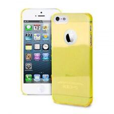 Custodia crystal in PVC PURO Ultrasottile Gialla per Apple iPhone 5  5S SE CONF