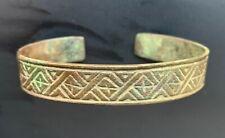 Bracelet 16-17 century, Finno-Ugric, jewelry, ancient artifact, 100% authentic.