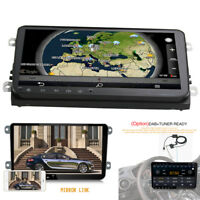 9'' Android 8.0 Touch Screen  Car Stereo Radio GPS Mirror Link