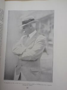 """mac Robertson   """"SIGNED""""  1927 Diary Book Trip Illustrated  186 pages"""