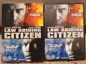 Law Abiding Citizen DVD With Slip Cover 2010 Gerard Butler Jamie Foxx