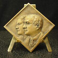 Médaille losange  MCJ 1929 signée Ch Reiller 33g 48mm Medal