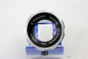 Schacht Ulm R Travenon 135mm f4.5 coated barrel lens