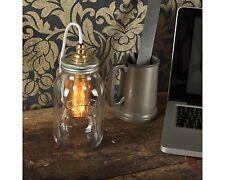 DEGORY Kilner Jar Lamp. 20% VAT inc. Retro Bed Side - desk lamp CE MARKED