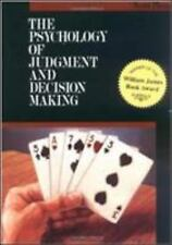 The Psychology of Judgment and Decision Making (McGraw-Hill Series in Social Psy