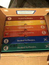 Vintage Hooked On Phonics Reading Learning Complete Set Open Box