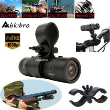 120° HD 1080P Mini Sport Camera Action Helmet DV DVR For Shotgun Rifle+ Gun Clip