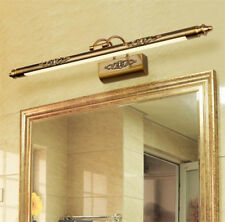 Retro Bathroom Wall Light Mirror Front LED Lighting Waterproof Antifogging Lamp