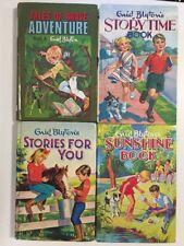 ENID BLYTON x4 Hardcover 1960's Books - Sunshine Book Storytime Tales of Brave