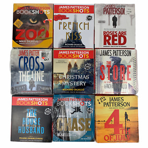 James Patterson Audiobook Lot of 9 Unabridged Zoo 2 French Kiss The Store Good