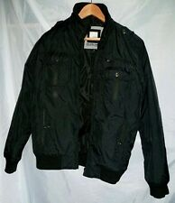 Jack & Jones, Jacket, Zip Closure, Black, Medium, Unworn