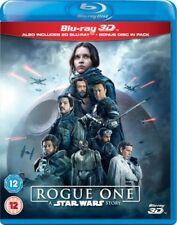 ROGUE ONE: A Star Wars Story [Blu-ray 3D + 2D] 3-Disc Set Combo Pack Jyn Erso