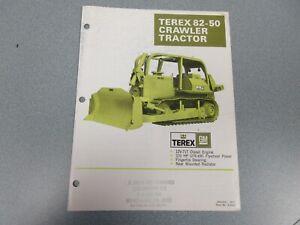 Terex 82-50 Crawler Tractor Literature