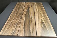 "Ziricote Lumber 6 3/4"" x 29"" Kiln Dried Awesome Figure!"