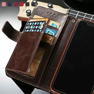Leather Wallet Case For iPhone 12 Pro Max 11 Xs Xr X 8 7 6 Plus Flip Phone Cover