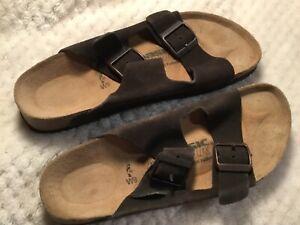 Basic Newark by Birkenstock Women Sandal BLACK - Size 40, US Women Size 9