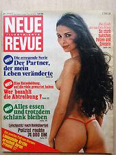 Neue Revue Nr 47/1977, Susy Moren, Mathilde Willink, Karin Schubert,Alicia Tomas