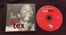 JOE TEX CD OH BOY CLASSICS 14 TRACK ALBUM