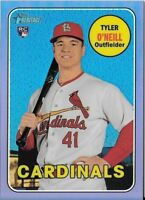 Tyler O'Neill 2018 Topps Heritage High CHROME PURPLE REFRACTOR Cardinals THC-612