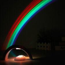 Rainbow Projector Night Light Starlight Show Rainbow Projection Xmas Lamp Light