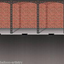 Martedì grasso Carnevale Festa SCENA SETTER CAMERA ROTOLO Sfondo-STREET & Muro di mattoni