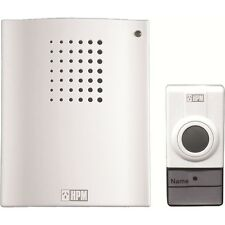 HPM Brand New High Quality Wireless Door Chime Battery Operated In/Outdoors