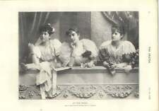 1896 Miss Mary Angela Dickens qui peut lire femme trois OPERA Beauties